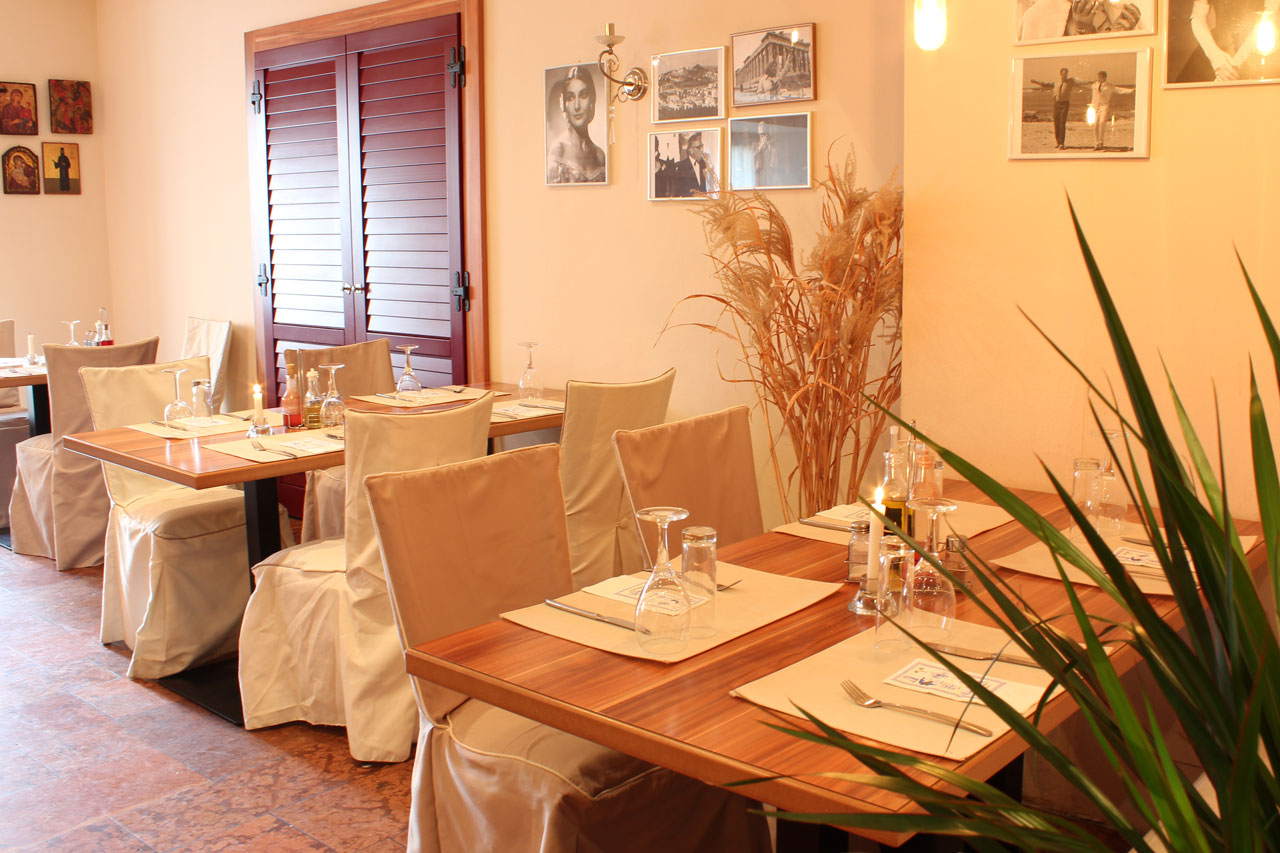 Taverna Corfu – Taverne/Restaurant im 1. Stock