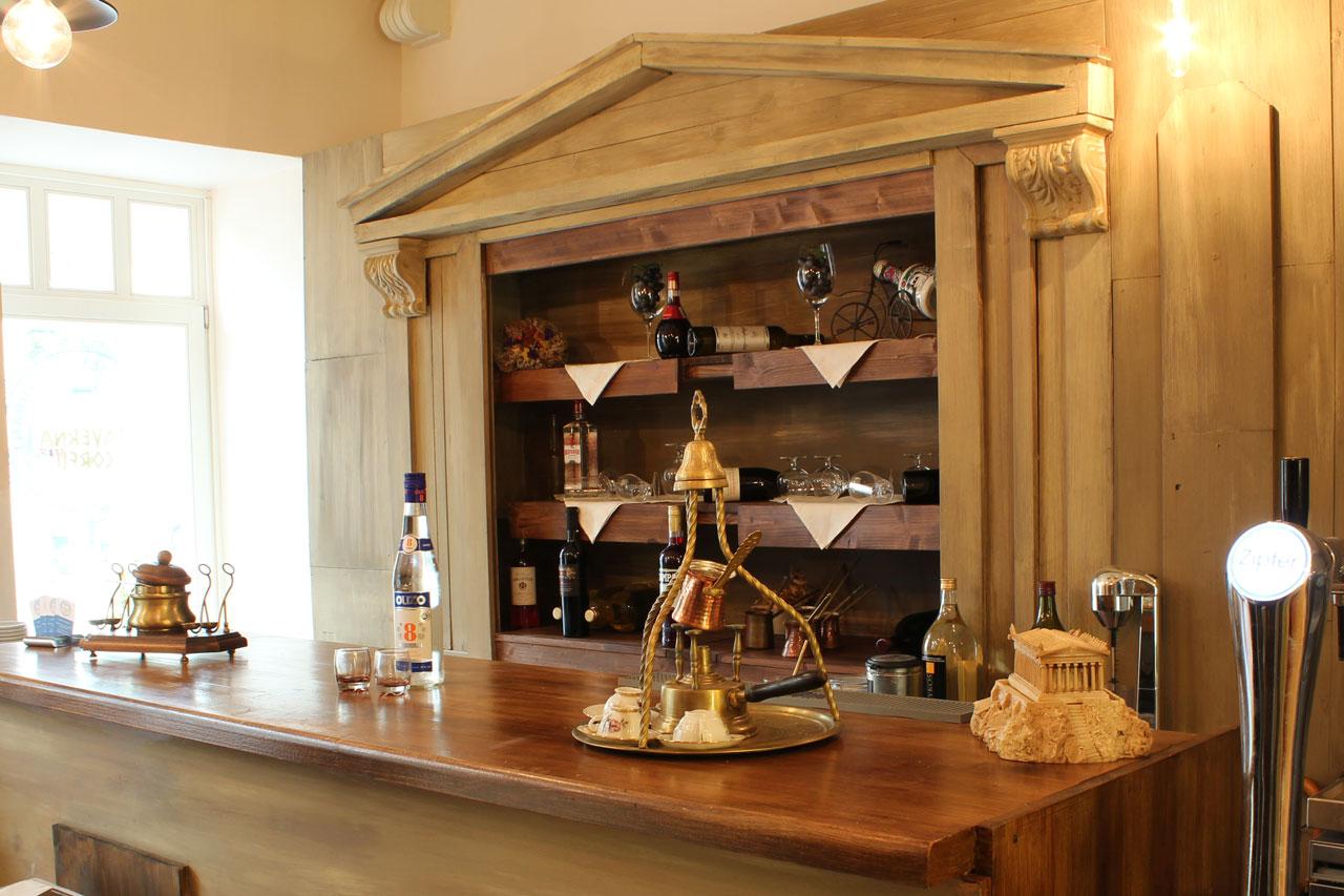 Taverna Corfu – Bar im Erdgeschoss